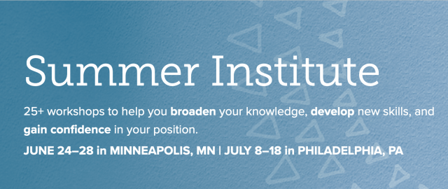 ISM Summer Institute - Professional Development for Private Schools