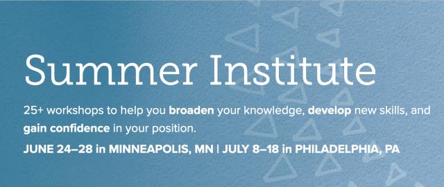 ISM Summer Institute - Professional Development for Private Schools